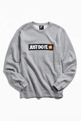 Nike Just Do It Logo Crew-Neck Sweatshirt