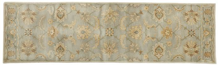 Pottery Barn Gabrielle Persian-Style Rug - Blue