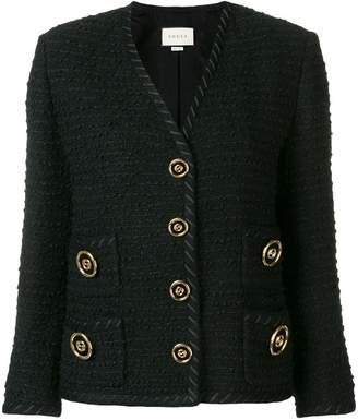 Gucci boucle knit jacket