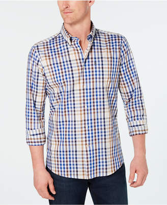 Barbour Men's Sam Heughan Lauristan Tailored-Fit Tattersall Plaid Shirt, Created for Macy's
