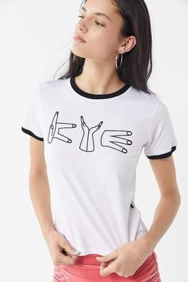 KYE Graphic Ringer Tee