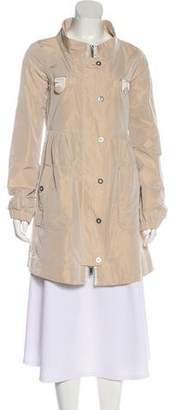 Emporio Armani Button-Up Knee-Length Coat