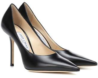 Jimmy Choo Ava 100 leather pumps