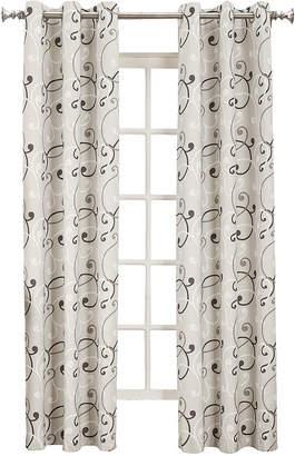 Sun Zero Sun ZeroTM Easton Thermal Lined Grommet-Top Curtain Panel