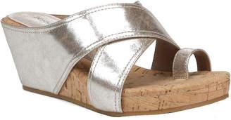 Donald J Pliner Geea Metallic Wedge Sandal