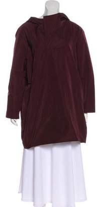 Marni Hooded Short Rain Coat