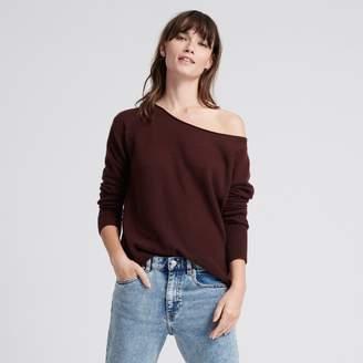 Naadam Cashmere Boatneck Sweater Plum