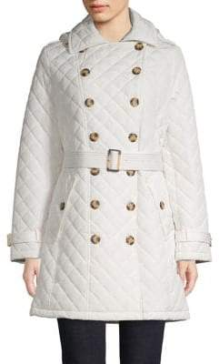 Calvin Klein Quilted Trench Coat