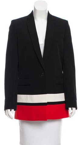 Givenchy Givenchy Wool Colorblock Blazer