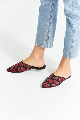 Urban Outfitters Lips Pointed Mule