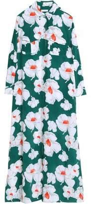 Equipment Floral-Print Silk Maxi Dress