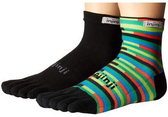 Injinji Run Lightweight Mini Crew 2-Pack Crew Cut Socks Shoes