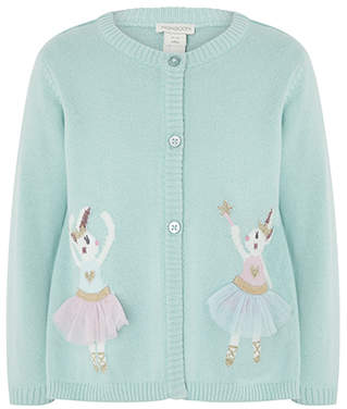 Monsoon Baby Ballerina Bunny Cardigan
