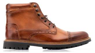 Base London Quail Leather Brogue Boot