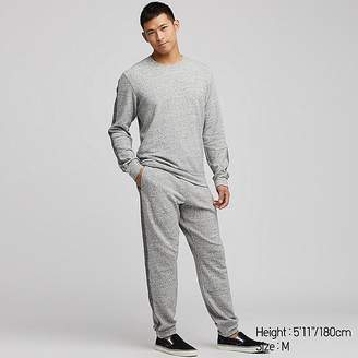 Uniqlo Men's Ultra Stretch Long-sleeve Sweat Set (online Exclusive)