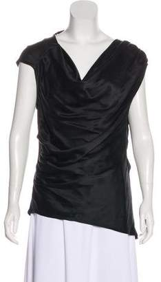 L.A.M.B. Sleeveless Silk Top