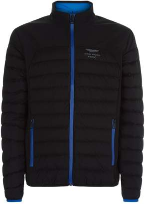 Hackett Aston Martin Racing Moto Padded Jacket