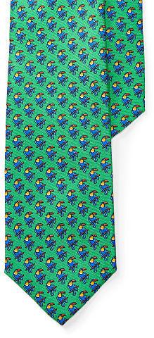 Polo Ralph LaurenPolo Ralph Lauren Toucan-Print Silk Narrow Tie