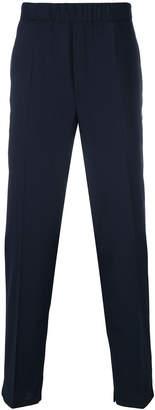 Neil Barrett elasticated waist trousers