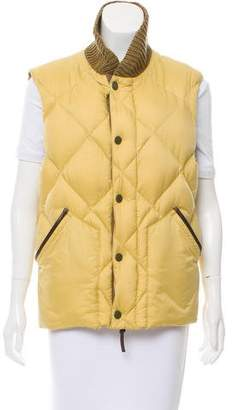 Burberry Padded Zip-Up Vest