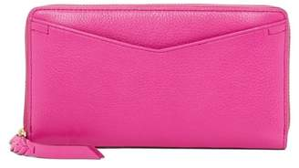 Fossil Caroline Zip Leather Wallet - RFID Protection