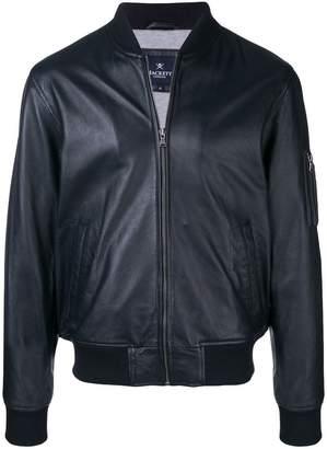 Hackett nappa bomber jacket