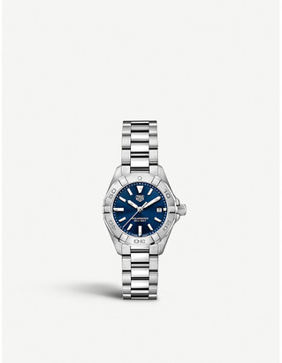 Tag Heuer WBD1412.BA0741 Aquaracer steel and sapphire-crystal watch