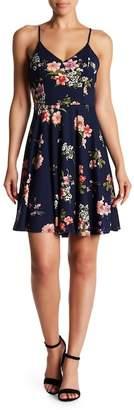 Soprano Floral Skater Dress