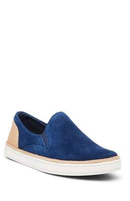 UGG Adley Perforated Slip-On Suede & Leather Sneaker