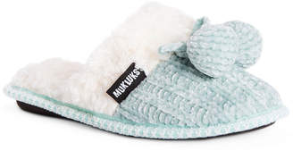 Muk Luks Womens Perlyn Scuff Slip-On Slippers