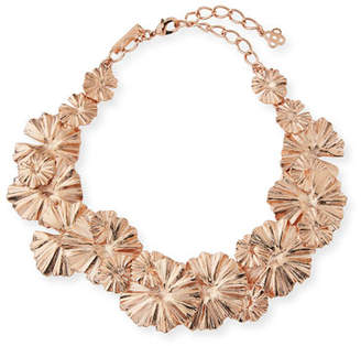 Oscar de la Renta Wildflower Statement Necklace