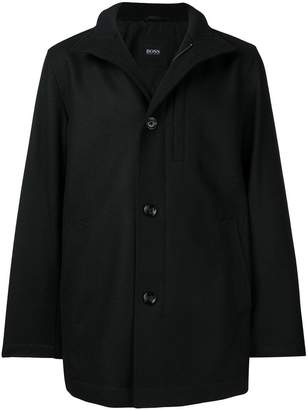 HUGO BOSS stand up collar coat