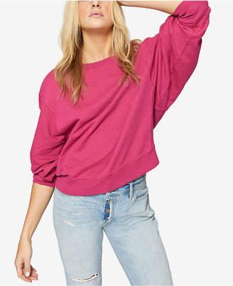 Sanctuary Cotton Dolman-Sleeve Sweatshirt