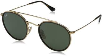 Ray-Ban 0rb3647n Non-Polarized Iridium Round Sunglasses