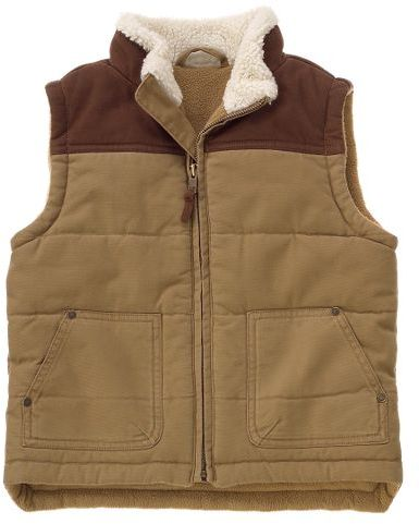 Quilted Canvas Vest