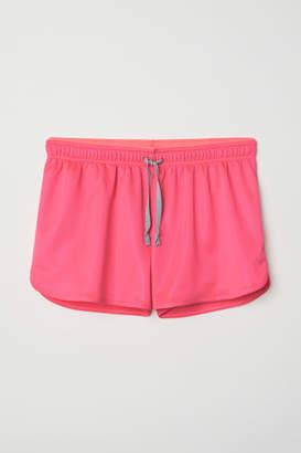H&M H&M+ Sports Shorts - Pink
