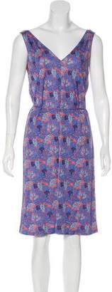 Tory Burch Sandy Floral Print Dress w/ Tags