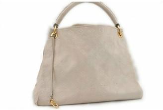 Louis Vuitton Artsy White Leather Handbags