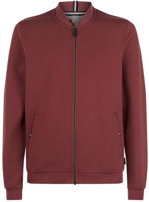 Ted Baker Wolf Jersey Bomber Jacket