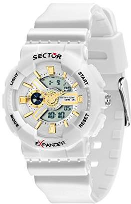 Sector No Limits Women's Ex-15 Analog-Quartz Sport Watch with Plastic Strap