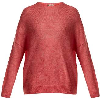 Masscob Dropped-shoulder mohair-blend sweater