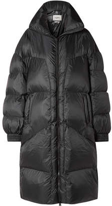 Etoile Isabel Marant Cray Quilted Shell Coat - Black