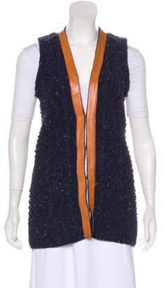 Tory Burch Merino Wool-Blend Knit Vest