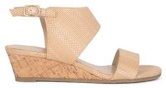 Callisto Bronzer Wedge Sandal