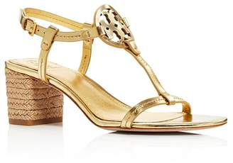 cff414a06ac Free Shipping  150+ at Bloomingdale s · Tory Burch Women s Miller Leather  T-Strap Block Heel Sandals