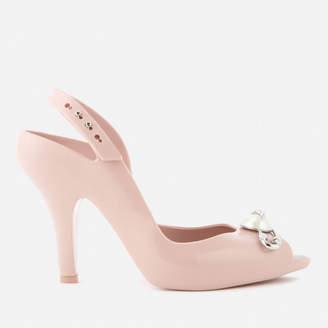 Melissa Women's Lady Dragon 19 Heeled Sandals - Blush Pin