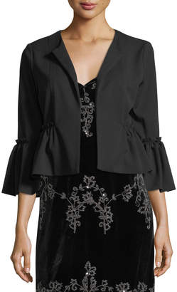 Romeo & Juliet Couture Peplum Hem Jacket