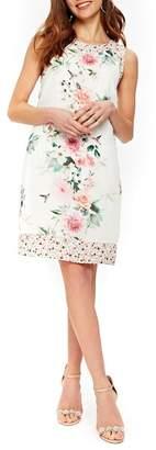 Wallis Peony Print Sheath Dress