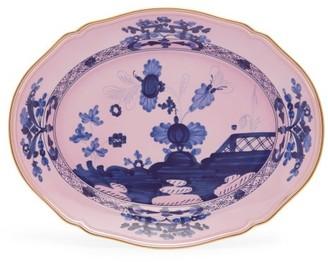 Richard Ginori Oriente Italiano Porcelain Platter - Pink Multi