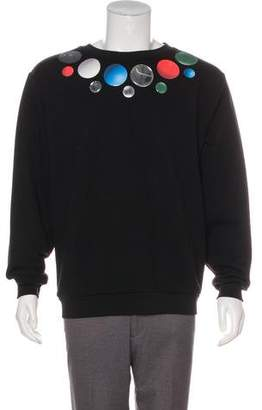 Christopher Kane Pullover Scoop Neck Sweatshirt